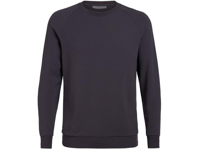Icebreaker Nature Dye Helliers T-shirt manches longues à col ras-du-cou Homme, tannin